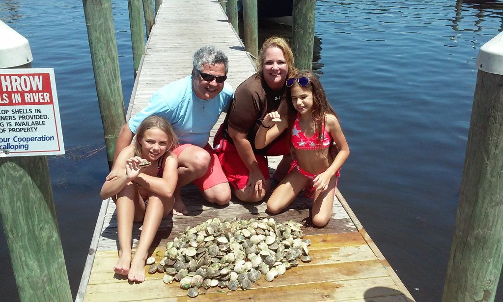 Scalloping trips homosassa crystal river