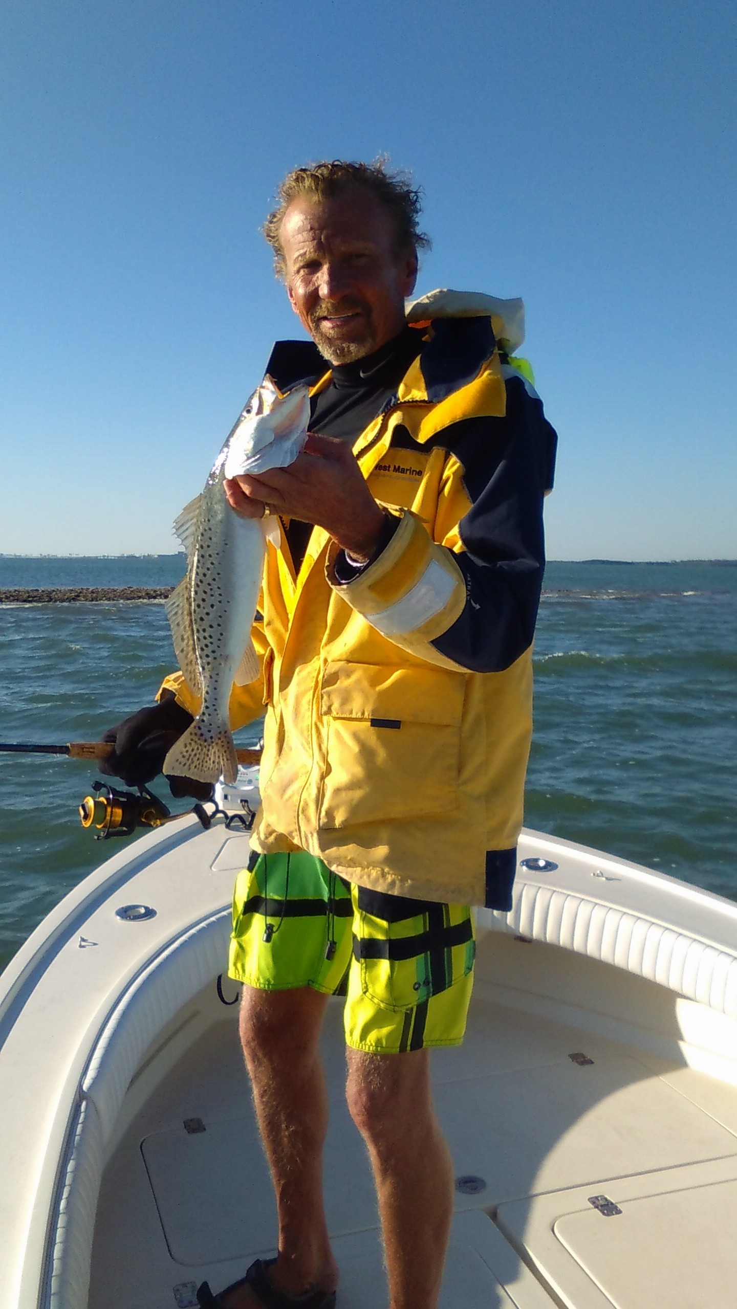 Fishing reports for tampa bay clearwater st pete fishing for Tampa bay fishing hot spots