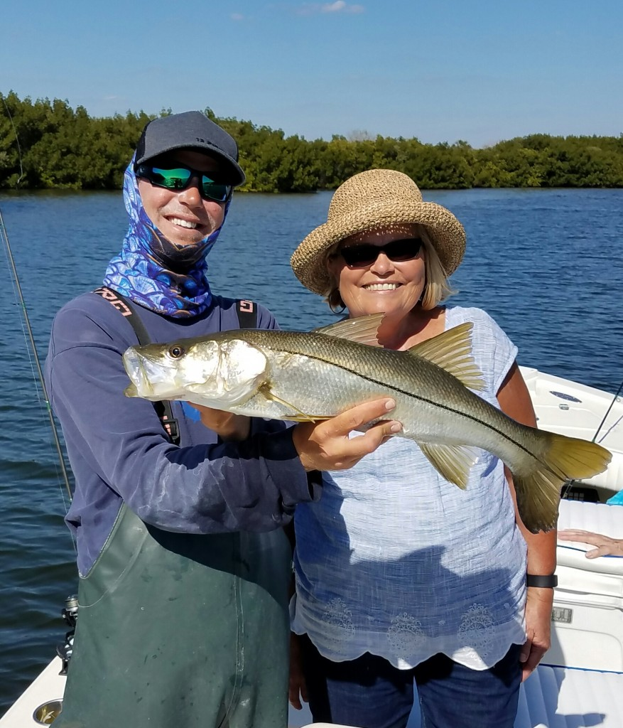 clearwater beach fishing charter snook