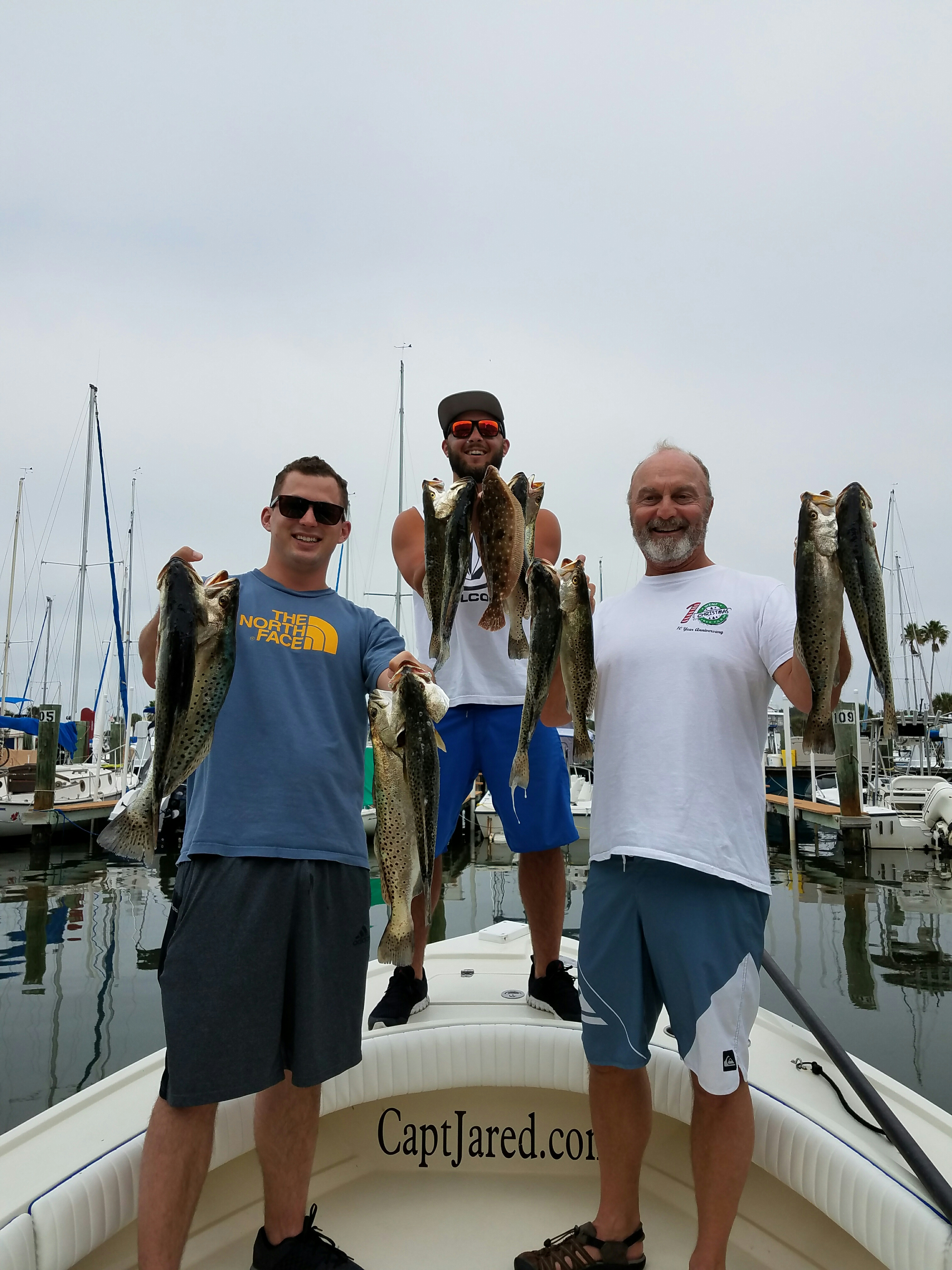 Fishing reports for tampa bay clearwater st pete fishing for Charter fishing tampa