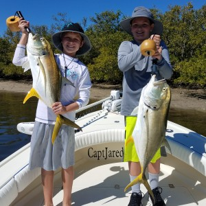 kids fishing charter tampa bay