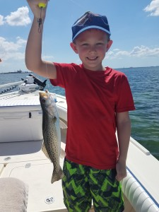 Kids fishing charter tour trout fishing tirp