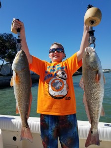 kids fishing guide tour st.pete clearwater beach