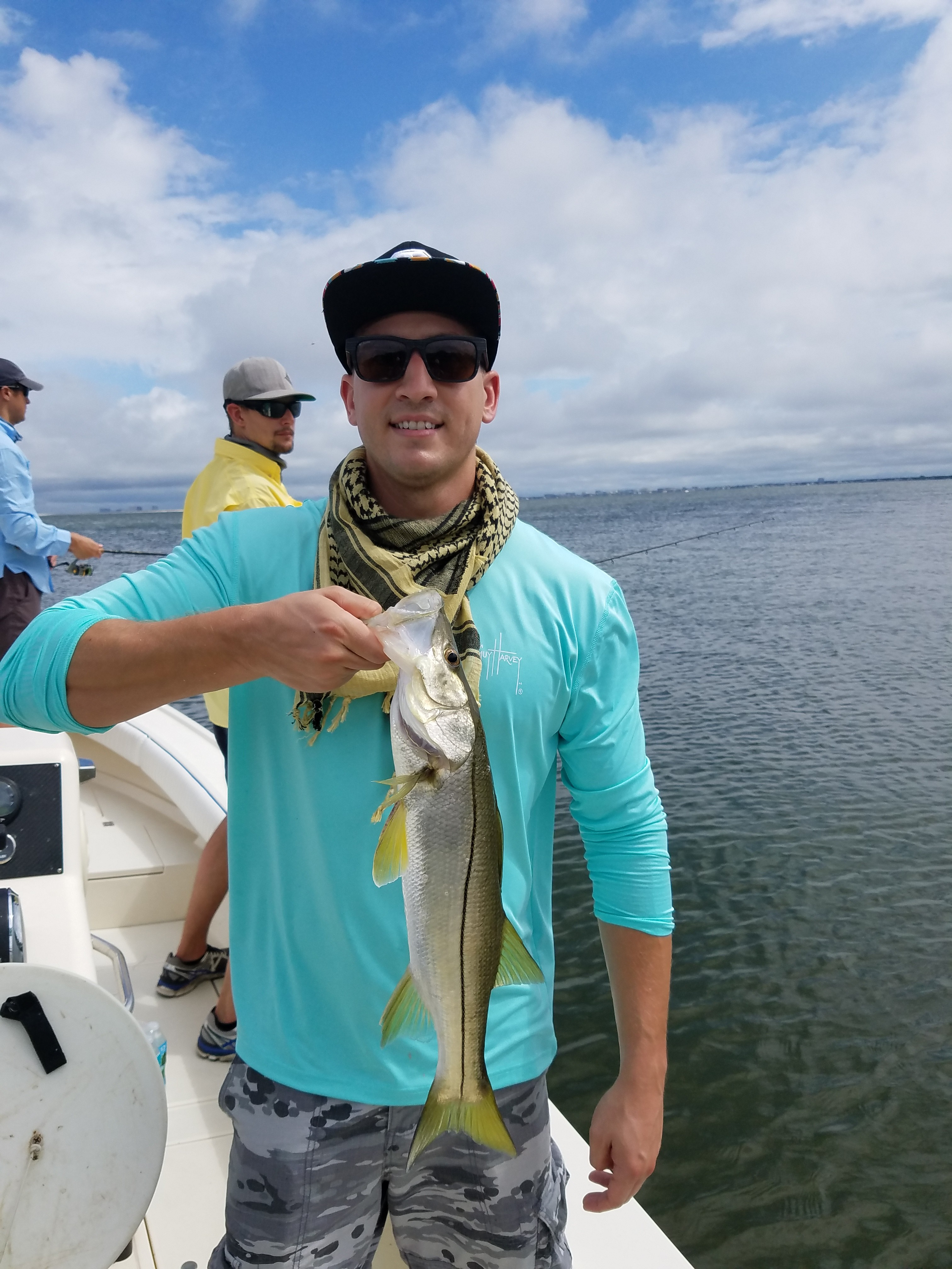 Fishing reports for tampa bay clearwater st pete fishing for Snook fishing florida