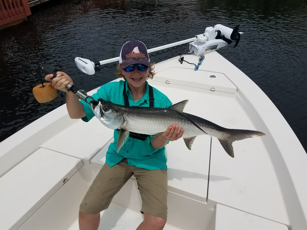 Tarpon Fishing Charter St.Pete beach florida with Capt.Jared
