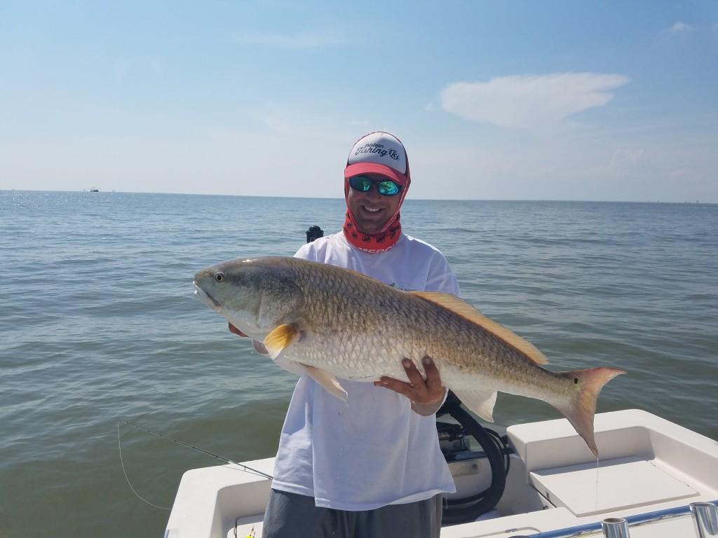 Capt.Jared Simonetti Bull Redfish Charters