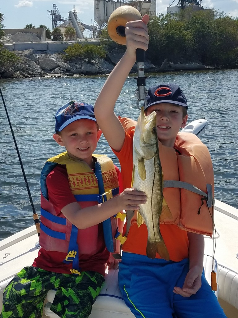 Clearwater Kids Fishing Trip Opal Resort