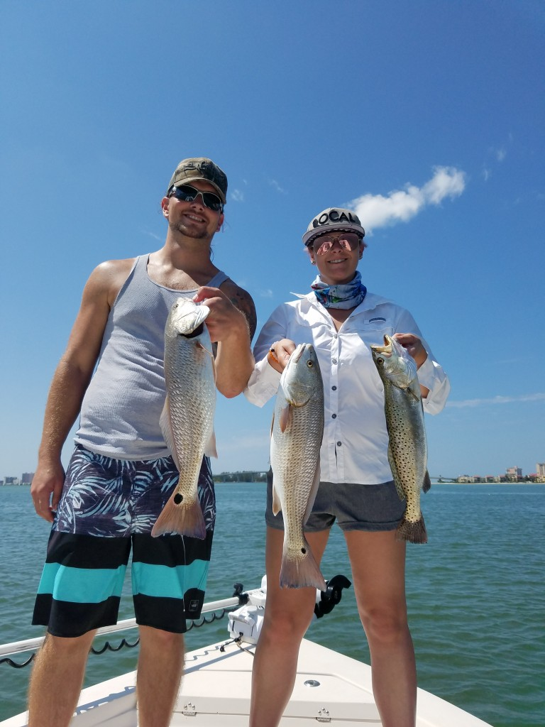 St.Pete beach fishing charter guided trips with capt.jared