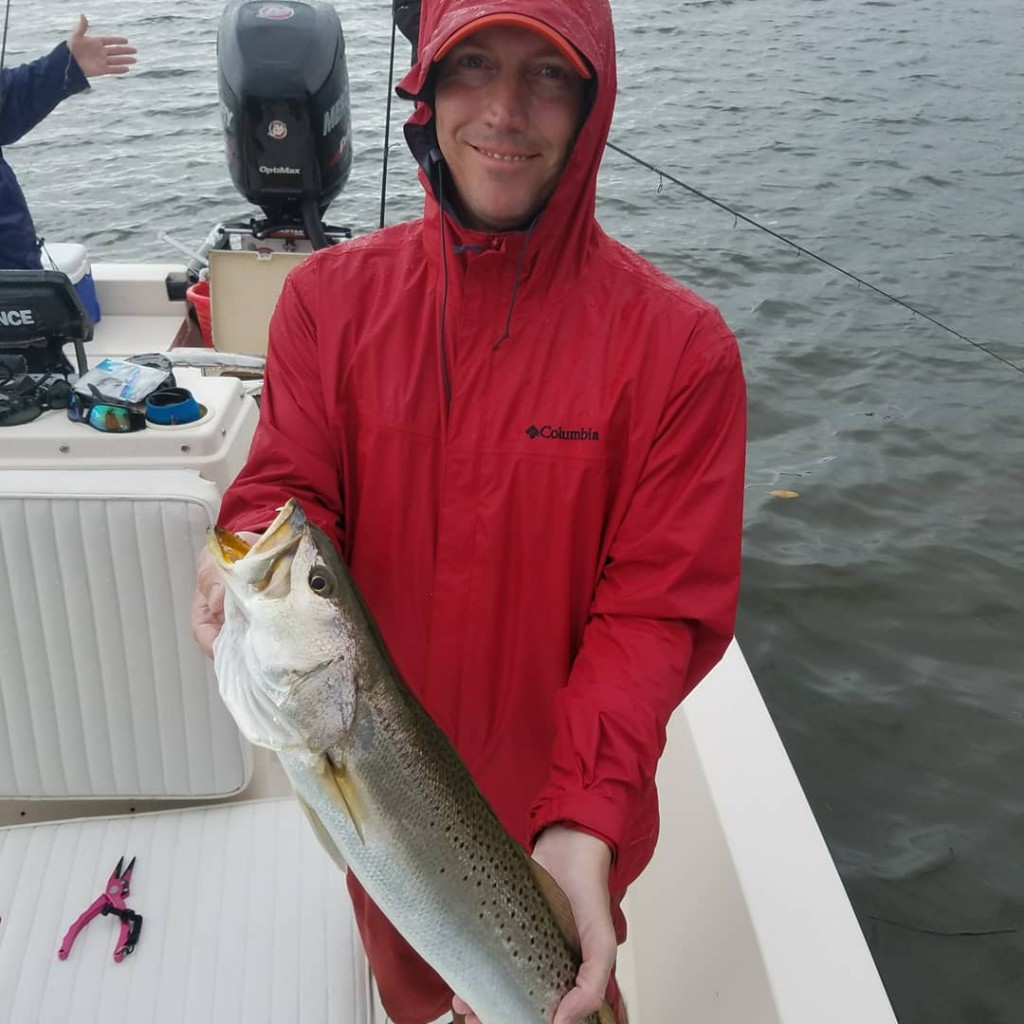 Andy big trout fishing tours in dunedin florida
