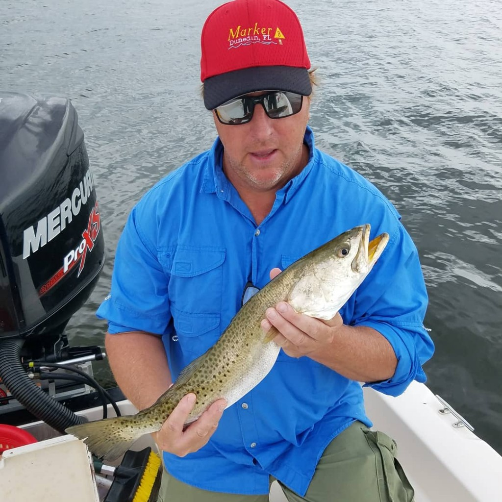 Safety harbor fly fishing guide charters trips