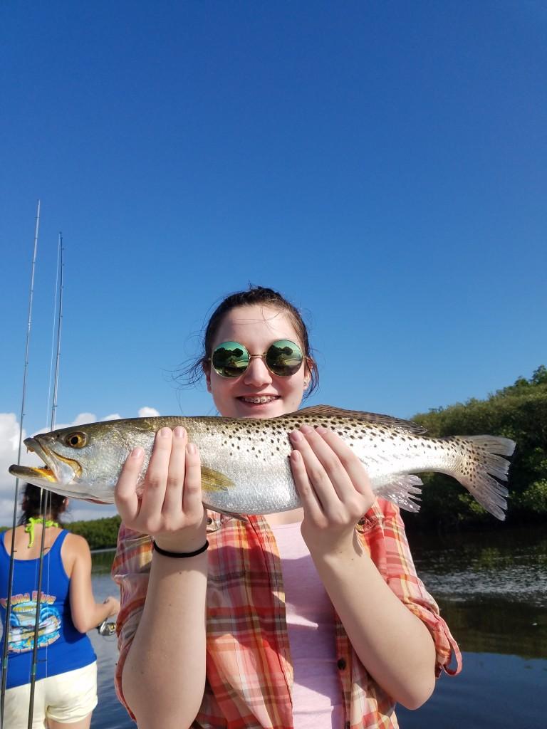 Big creek caught trout fishing Tampa Airport fishing trips