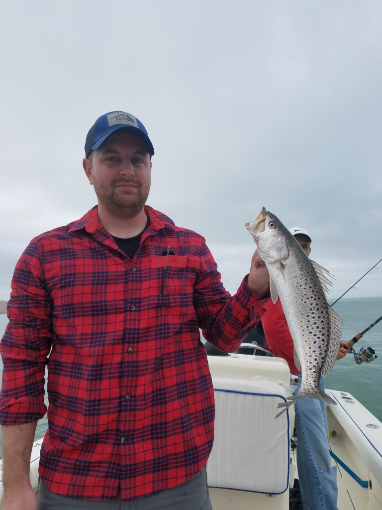 Dunedin Fishing guides, charters, and tours trout catch
