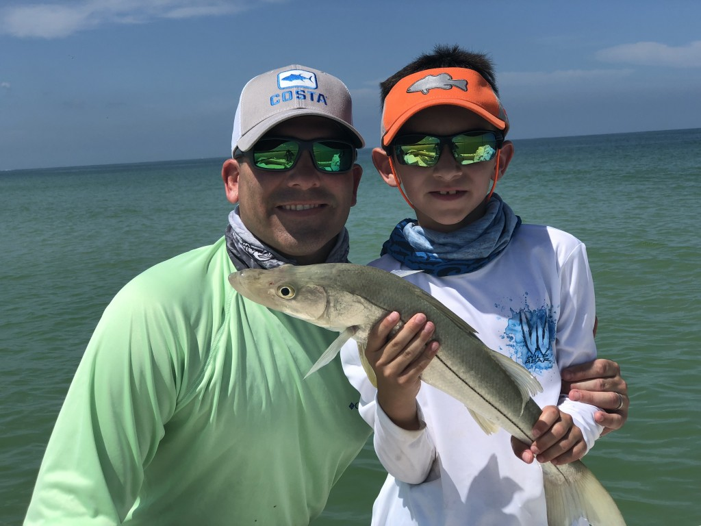 Kids Fishing trips Clearwater beach