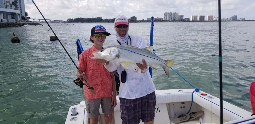 Opal Sands Clearwater Beach Fishing Guide and Charters