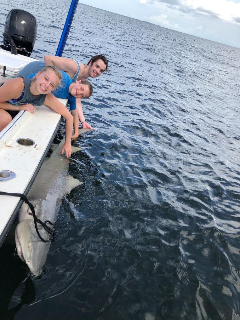 St.Pete beach Shark Fishing Trip