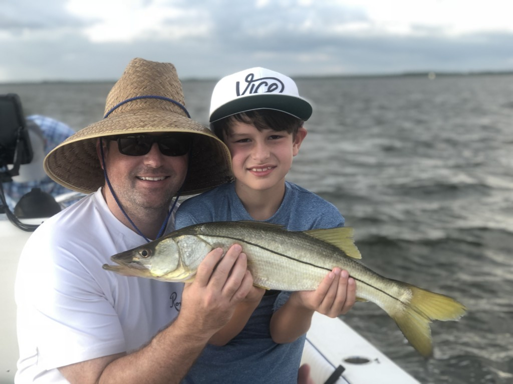 Kids fishing charter clearwater beach