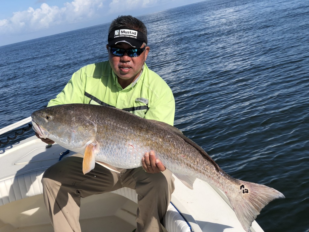 Sam Root - Mustad Hooks - Redfish Charter