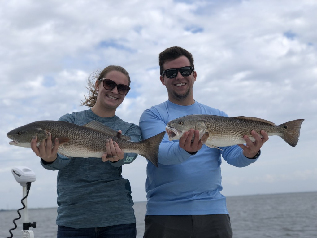 Redfish fishing charters clearwater