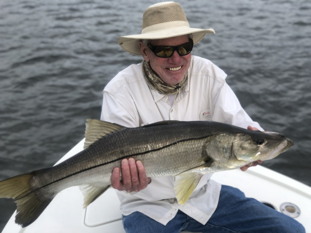 Robert snook fishing safety harbor Capt.Jared