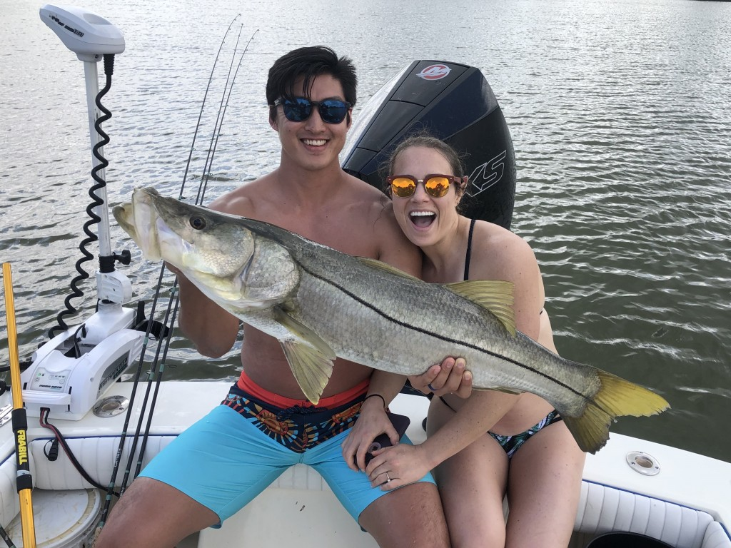 Snook Fishing Charter Tampa Clearwater St,pete beach