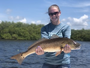 jenna redfish tampa fishing charters