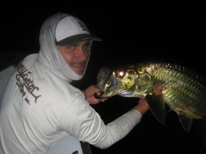 night tarpon fishing charter tampa