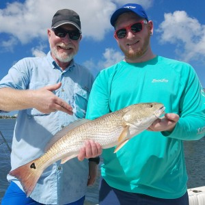Father son fishing guide trips