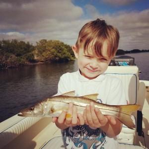Kids fishing trip clearwater