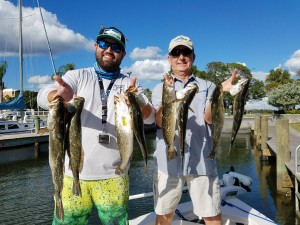 trout fly fishing guide tours and charters in safety harbor, fl